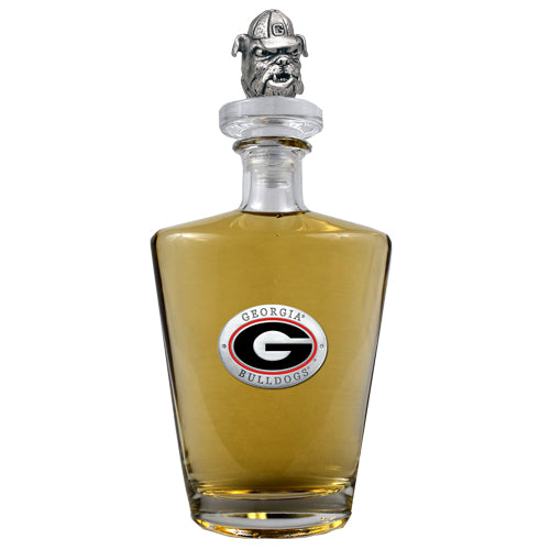 Georgia Bulldogs Royal Decanter