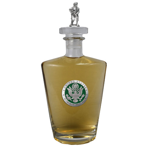 Army Green Royal Decanter