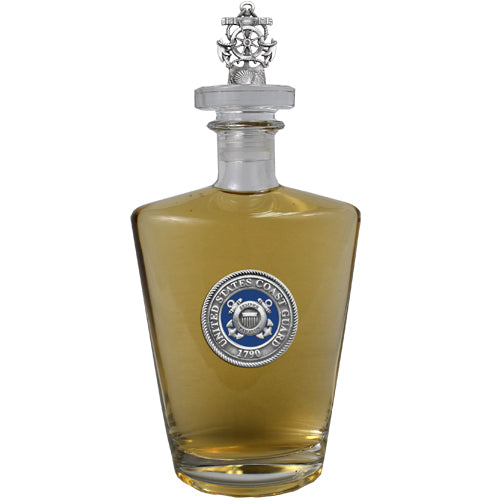 Coast Guard Green Royal Decanter