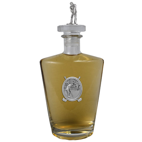 Golfer Royal Decanter