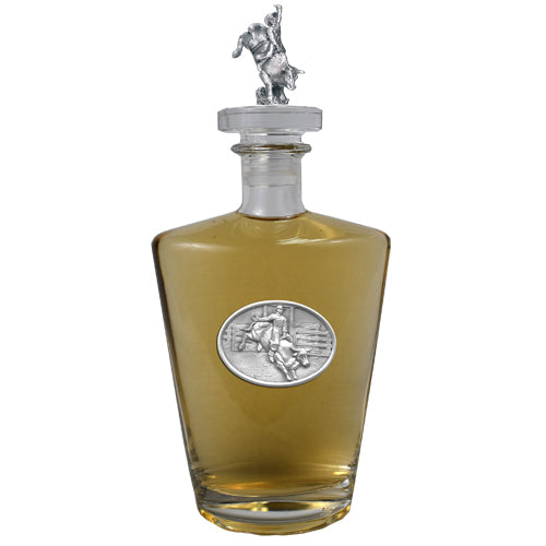 Bull Rider Royal Decanter