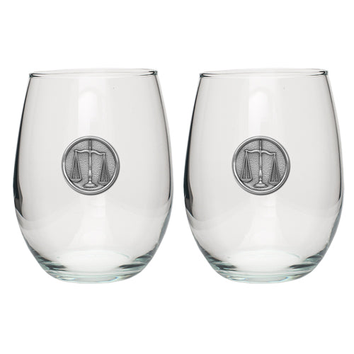 LAW STEMLESS GOBLET (SET OF 2)