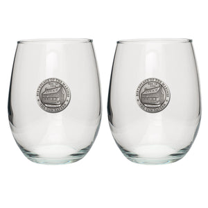 MARINES TUN TAVERN STEMLESS GOBLET (SET OF 2)