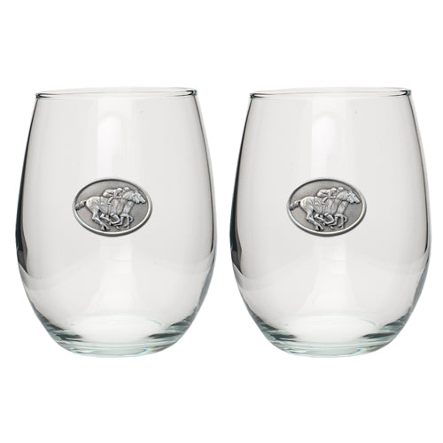 BY A NOSE STEMLESS GOBLET (SET OF 2)