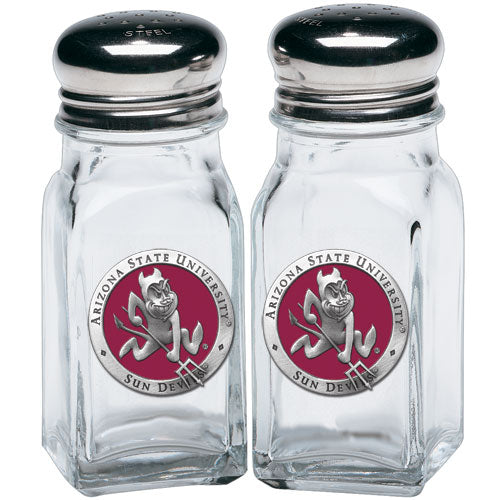 ARIZONA STATE UNIVERSITY SPARKY LOGO SALT & PEPPER SHAKERS