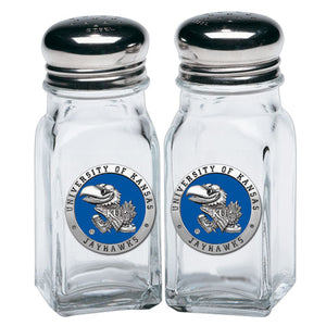 UNIVERSITY OF KANSAS  SALT & PEPPER SHAKERS