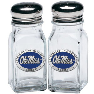 UNIVERSITY OF MISSISSIPPI SALT & PEPPER SHAKERS