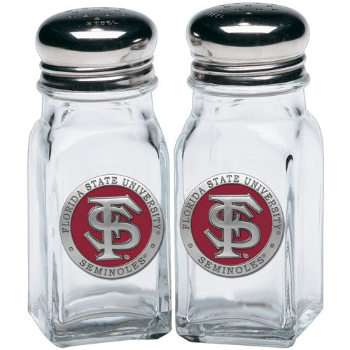 FLORIDA STATE UNIVERSITY FS LOGO SALT & PEPPER SHAKERS