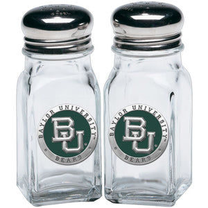 BAYLOR UNIVERSITY SALT & PEPPER SHAKERS