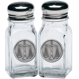 LAW SALT & PEPPER SHAKERS