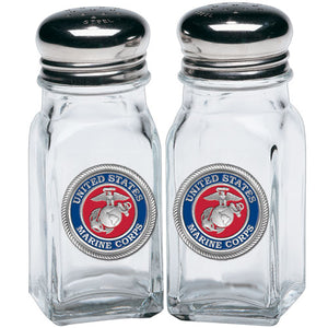 MARINE CORPS SALT & PEPPER SHAKERS