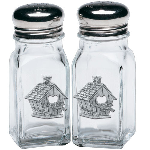 BIRDHOUSE SALT & PEPPER SHAKERS