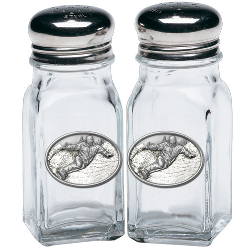 SNOWBOARDER SALT & PEPPER SHAKERS