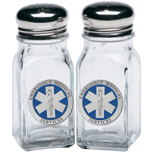 EMERGENCY MEDICAL SALT & PEPPER SHAKERS