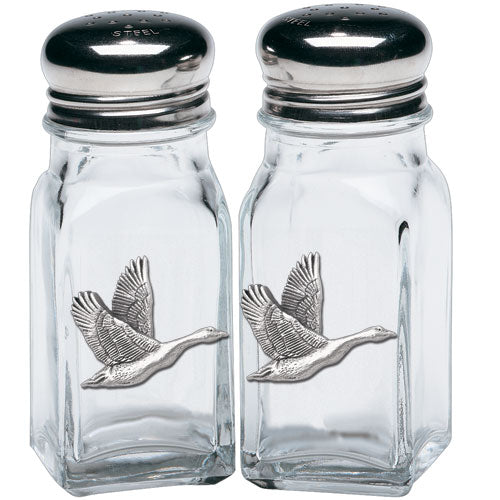 CANADIAN GOOSE SALT & PEPPER SHAKERS
