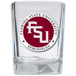 FLORIDA STATE UNIVERSITY FSU LOGO SQUARE SHOT