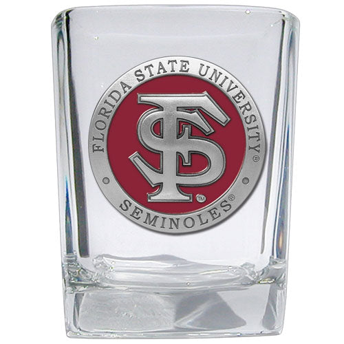 FLORIDA STATE UNIVERSITY FS LOGO SQUARE SHOT