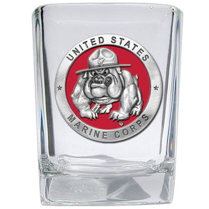 USMC BULLDOG SQUARE SHOT