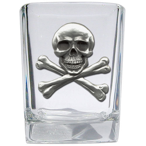 SKULL AND BONES SQUARE SHOT
