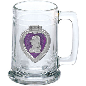 PURPLE HEART STEIN