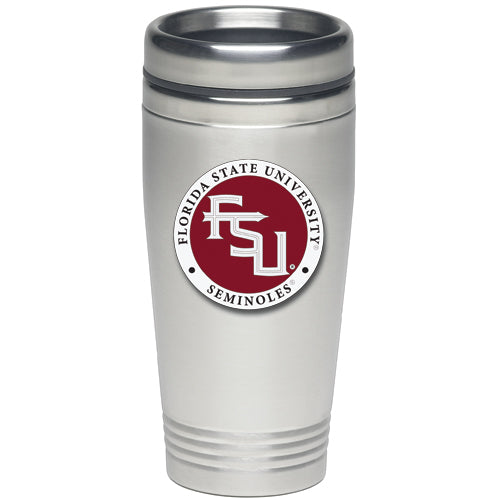 FLORIDA STATE UNIVERSITY FSU LOGO THERMAL DRINK