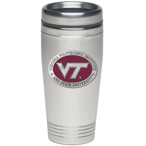 VIRGINIA TECH UNIVERSITY VT LOGO THERMAL DRINK