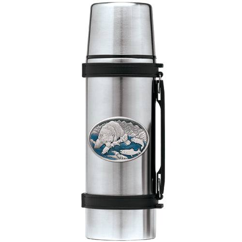 BROWN BEAR THERMOS