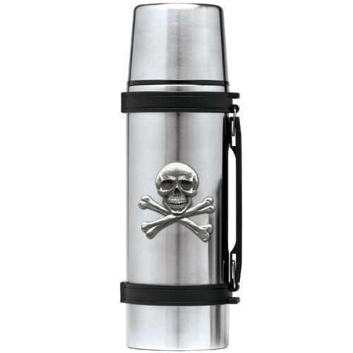 SKULL AND BONES THERMOS