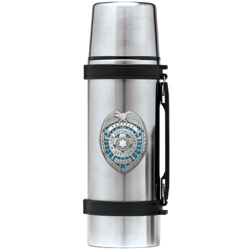 LAW ENFORCEMENT THERMOS