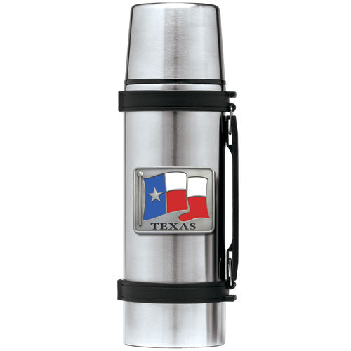 TEXAS FLAG THERMOS