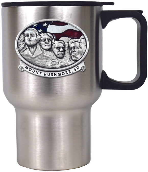 MT Rushmore Travel Mug