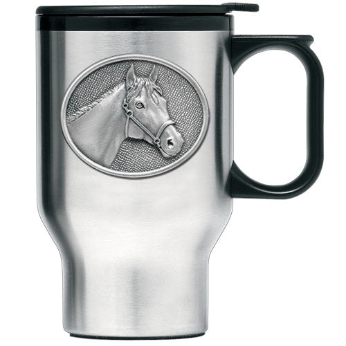 RACEHORSE TRAVEL MUG