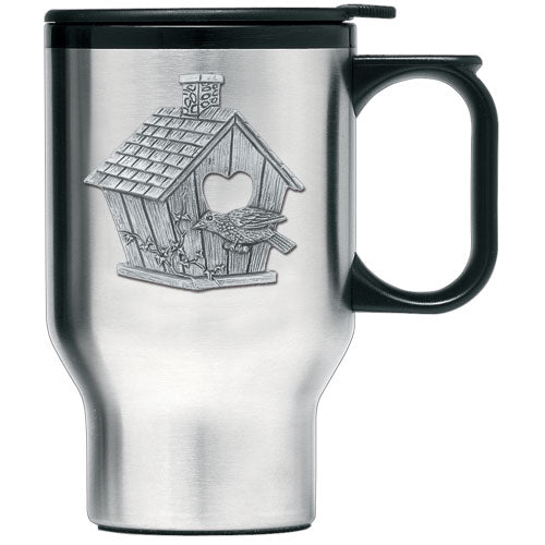 BIRDHOUSE TRAVEL MUG