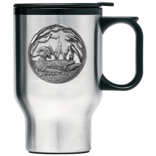 WOOD DUCK TRAVEL MUG