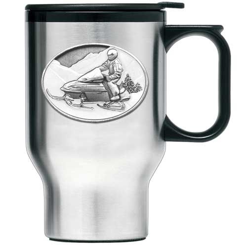 SNOWMOBILE TRAVEL MUG
