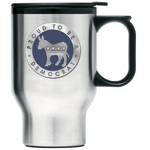 DEMOCRAT TRAVEL MUG