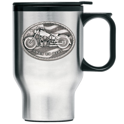 MOTORCYCLE TRAVEL MUG