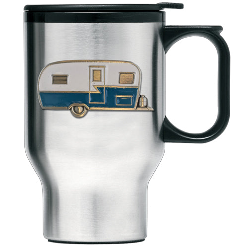 VINTAGE CAMPER TRAVEL MUG