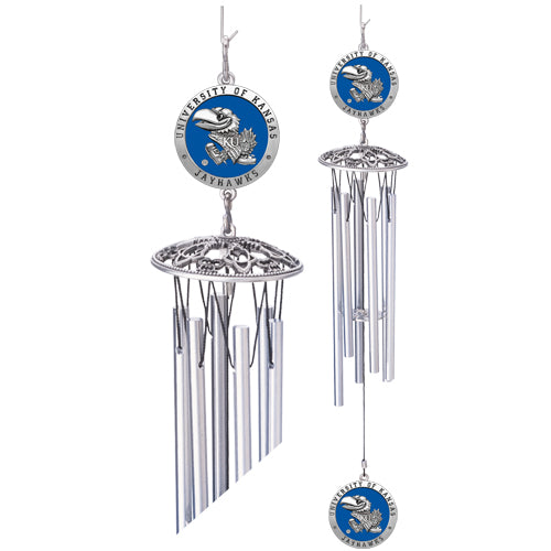 Kansas Jayhawks Wind Chime