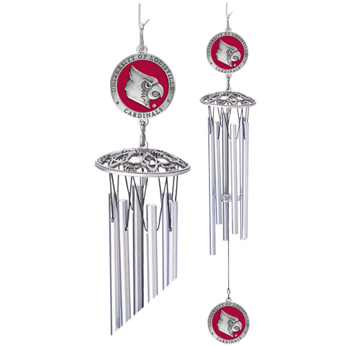 Louisville Cardinals Wind Chime