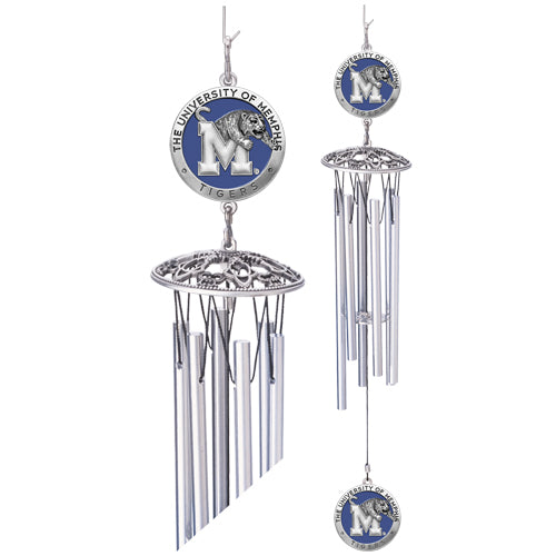 Memphis Tigers Wind Chime