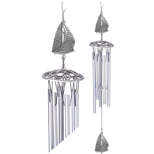 Sail Boat Wind Chime