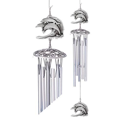 Dolphins Wind Chime