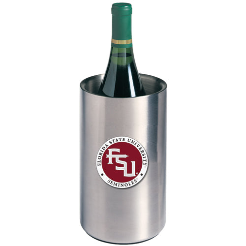 FLORIDA STATE UNIVERSITY FSU LOGO WINE CHILLER