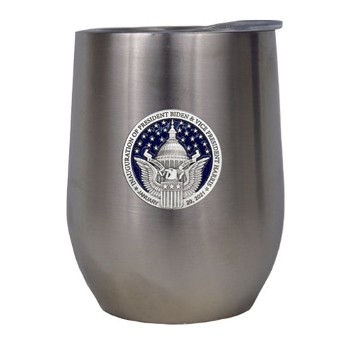 BIDEN & HARRIS INAUGURATION WINE TUMBLER