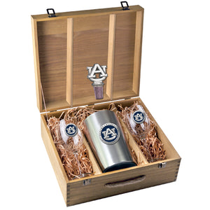 AUBURN UNIVERSITY WINE BOX SET