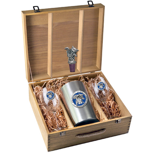 UNIVERSITY OF KENTUCKY WINE BOX SET