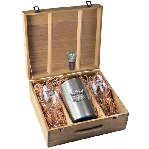 CROWN WINE BOX SET