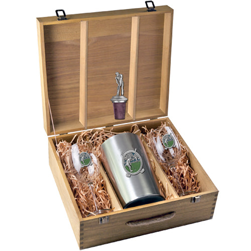 GOLF WINE BOX SET