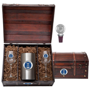 AIR FORCE WINE CHEST SET